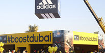 Adidas runs the Standard Chartered Marathon